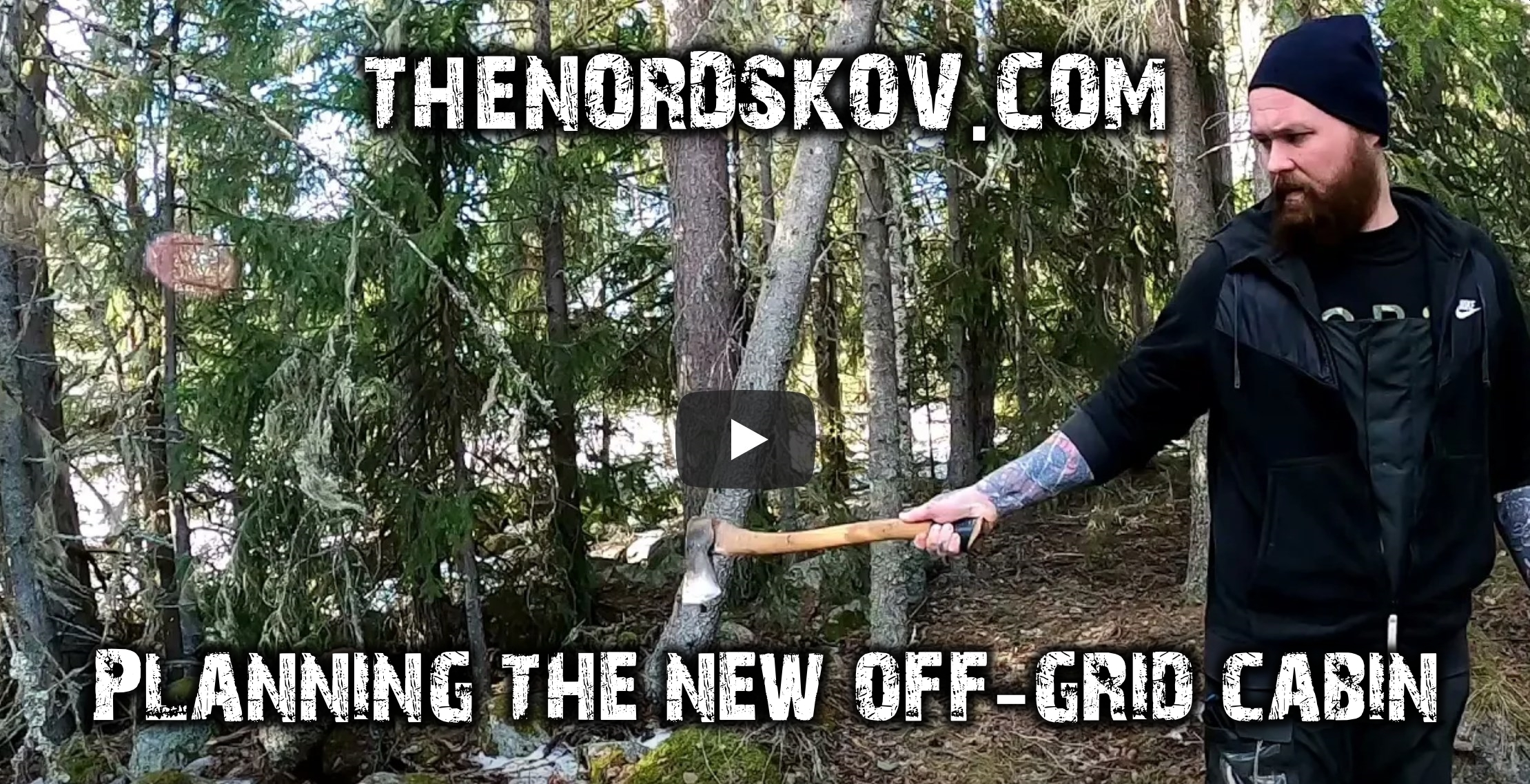 Planning the off-grid cabin | The thaw begins