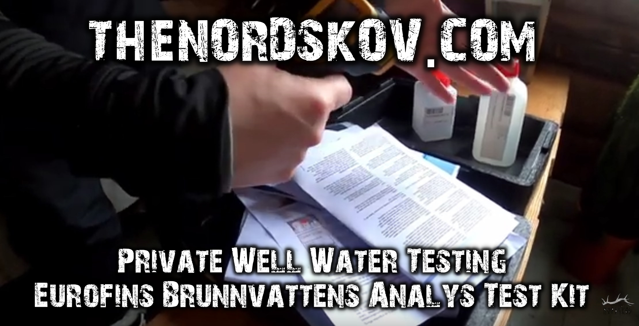 Private Well Water Testing: Eurofins Test Kit