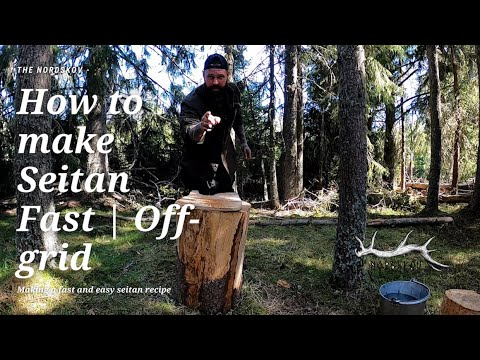 How to make Seitan Fast | Off-Grid