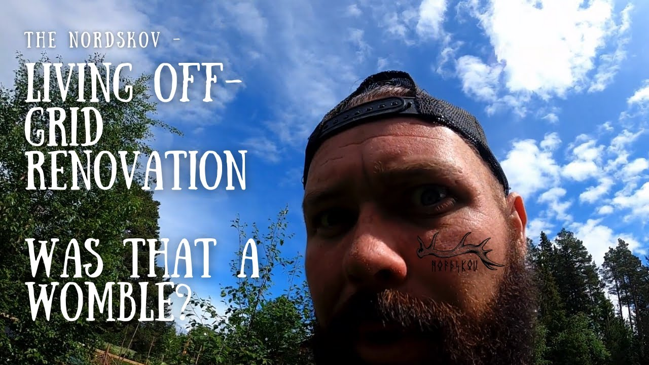 Living off-grid Renovation | Was that a Womble?